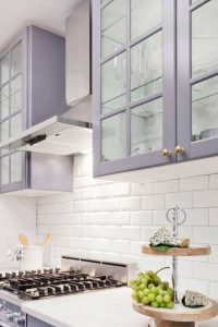 Painted Kitchen cabinets colors are becoming bolder and brighter this year. Unique and entertaining hues can add a distinctive quality that makes your kitchen stand out from the rest. See Cabinet paint colors, painted kitchen cabinets, kitchen cabinet color ideas and pictures