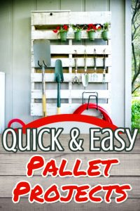 Pallet ideas - Quick and Easy Pallet Projects to Make