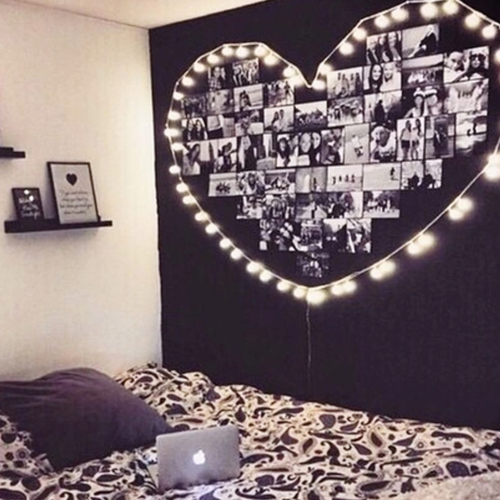 DIY Dorm Wall Art - do it yourself dorm room ideas #dormroom #dormroomideas #dormrooms #collegeplanning #college #collegehacks #dorm #bedroomideas #roomdecor #dreamroom #dreambedroom #tinyhouse #roomideas #dormbedroomideas #bedrooms