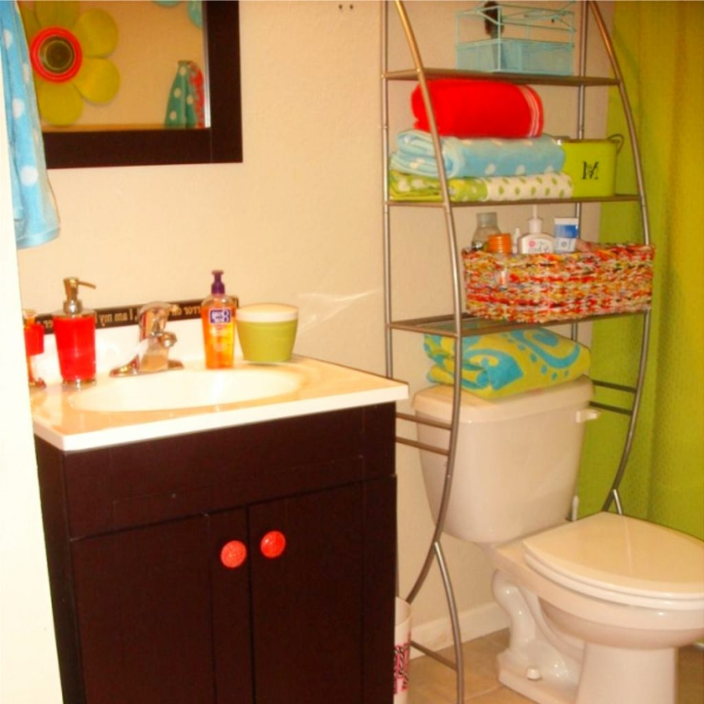 Bathroom Diy Ideas: Dorm Bathroom Ideas & Hacks