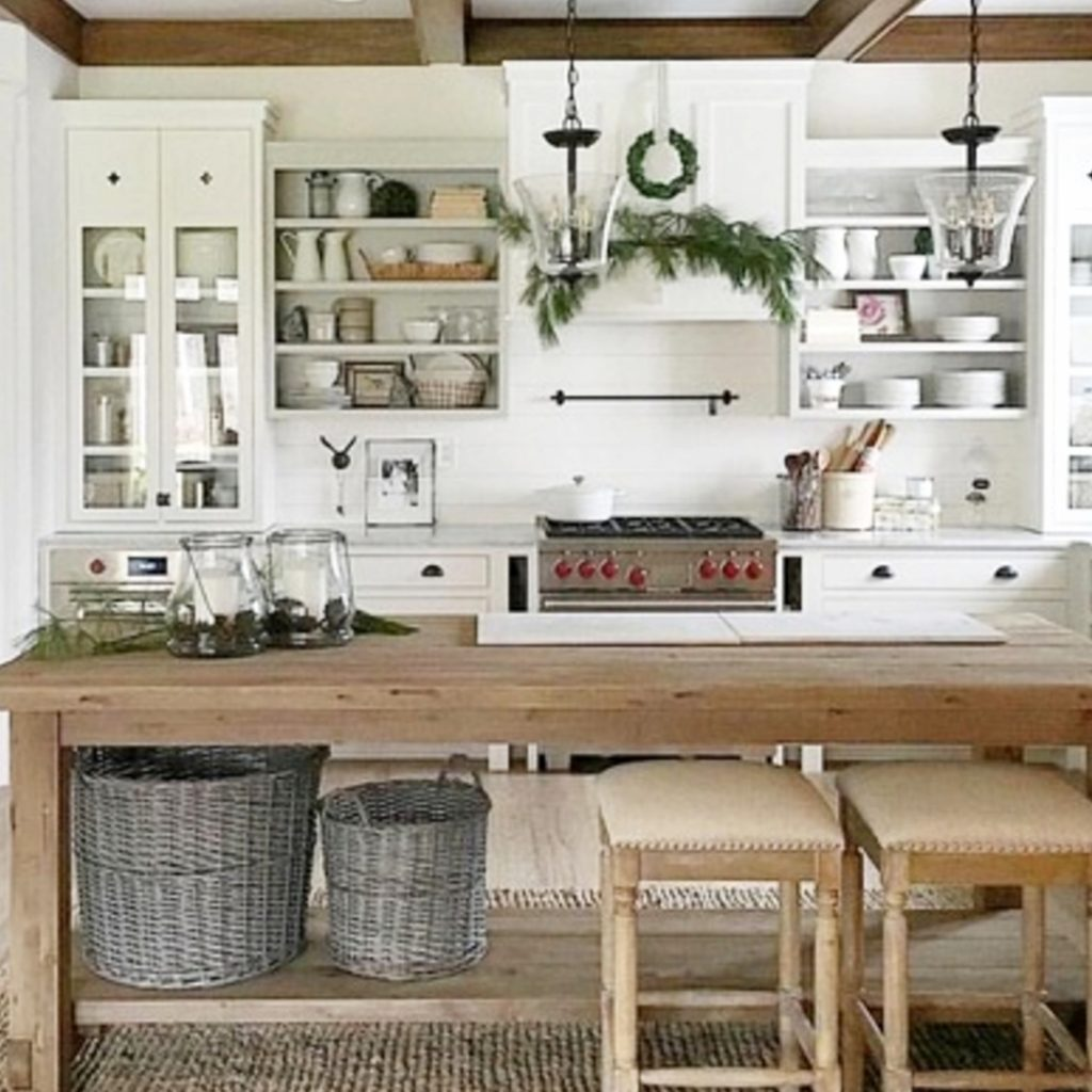 Farmhouse Kitchen Ideas On A Budget (PICTURES For November 2018