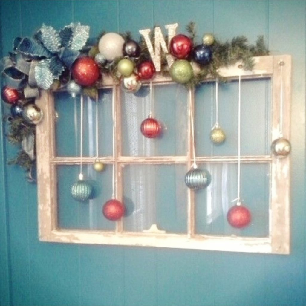 Old Window Christmas Crafts