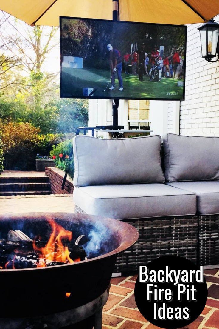 Backyard Fire Pits - pictures of backyard fire pit ideas for your home #backyardideas #diyhomedecor #gardenideas #dreamhome