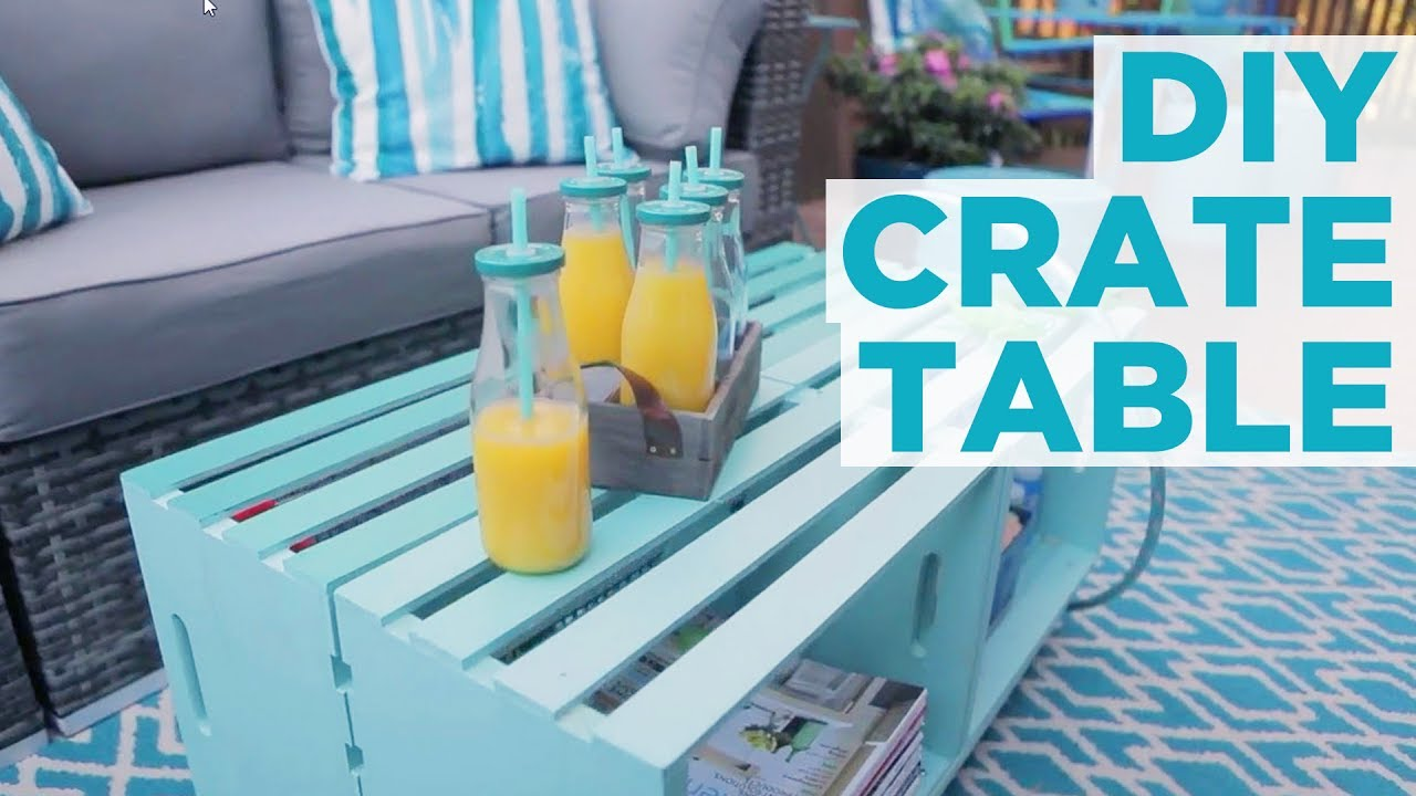 Diy Crate Furniture Ideas Amp Pictures Using Wooden Crates