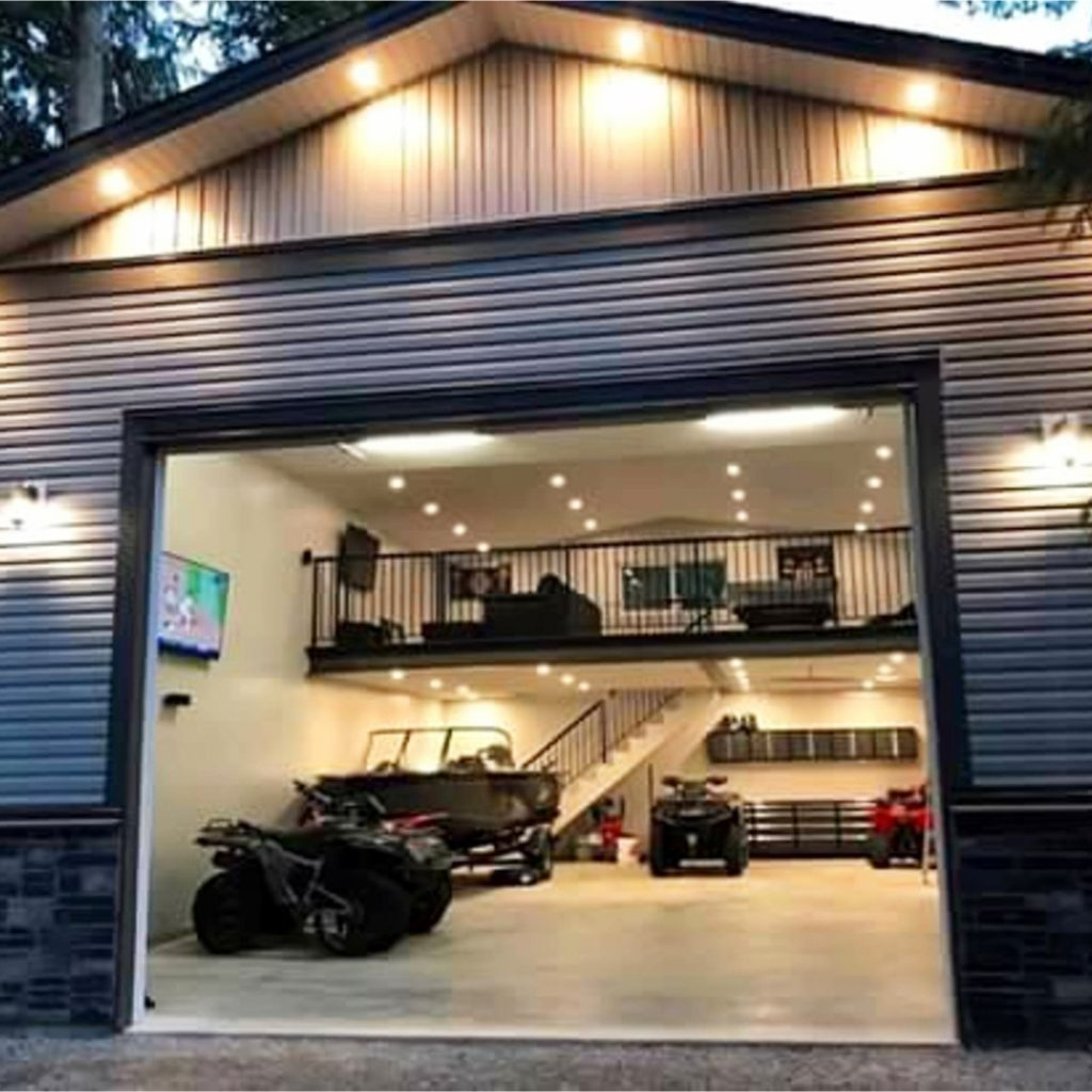 Garage man cave ideas on a budget easy diy ideas from for Garage building ideas