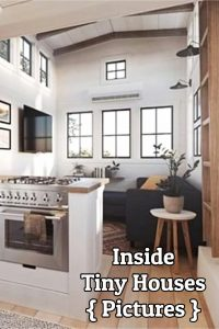 Inside tiny houses images - see tiny house interiors and exteriors, floor plans and more - pictures of tiny houses inside and out #tinyhouses #insidetinyhouses #diyhomedecor #homedecorideas