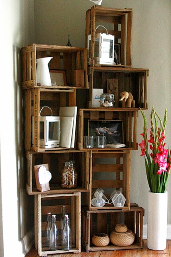 Brand new DIY Crate Furniture Ideas & Pictures Using Wooden Crates and Milk  JR51