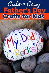 54+ Easy Crafts for Dad from Kids - Father's Day Crafts for preschoolers/ toddlers, Pre-K, Sunday school etc - make great homemade gift ideas for dad #craftsforkids