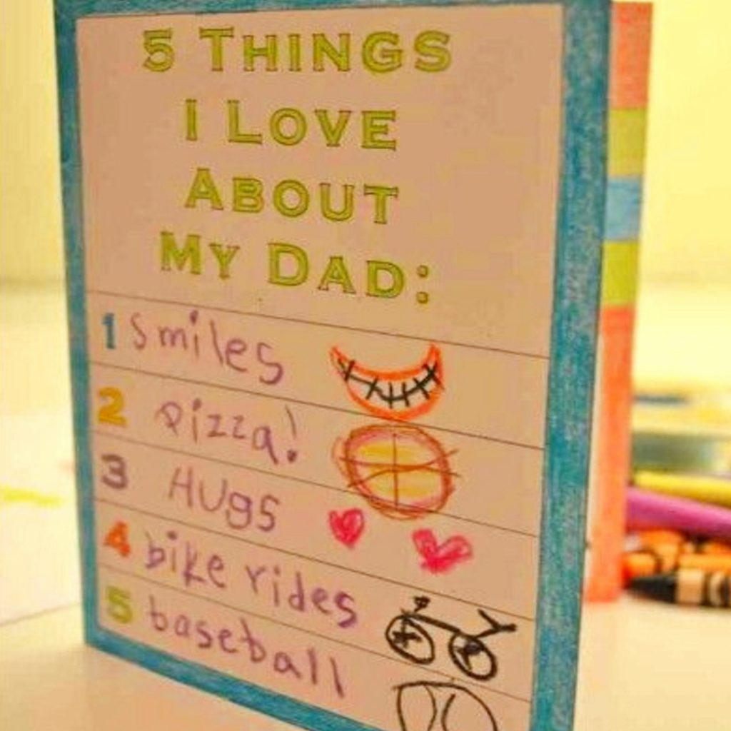 Easy crafts for kids to make for dad - crafts for dad from kids #giftsfordad #craftsforkids #fathersday #momhacks