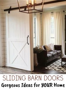 Sliding Barn Doors - DIY Sliding Barn Door Ideas For Your Home