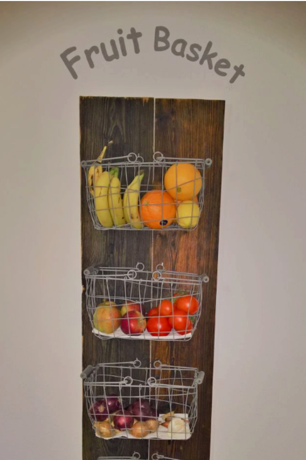 Ideal DIY Hanging Fruit Basket Ideas and PICTURES - Unique and Easy Wall  XD21