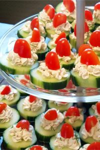 easy cucumber bites party appetizer