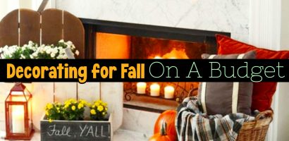 Decorating For Fall on a Budget – Unique DIY Fall Decor Ideas For The Home