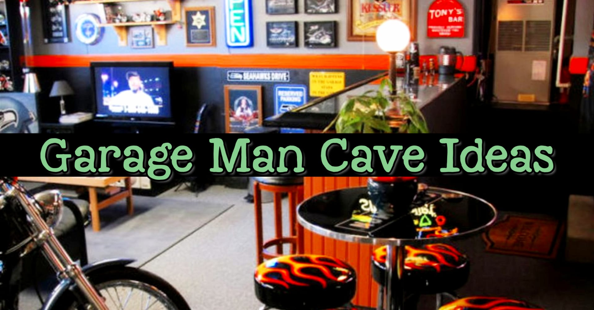 garage man cave ideas
