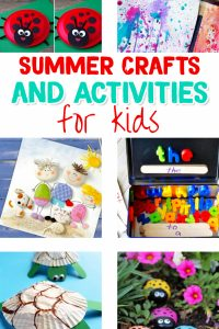Fun Summer Crafts for Kids - Activities and Craft Ideas for the Kids this Summer