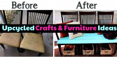Upcycle Projects and Ideas – DIY Upcycled Household Items and Junk Into Furniture, Decor and More
