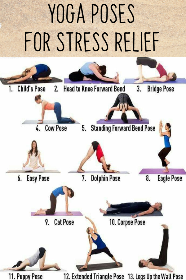 Easy Yoga Poses for Stressed Out Moms