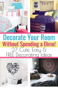How To Decorate Your Room With Things You Already have