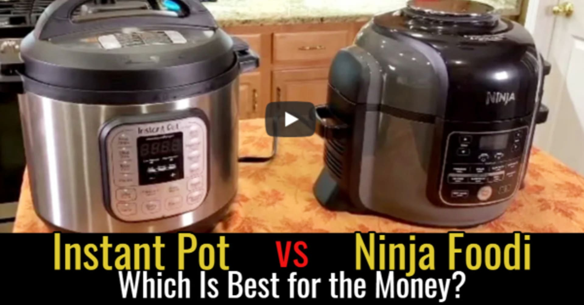 Instant Pot vs Ninja Foodi Instant Pot - which instant pot pressure cooker is best for the money?