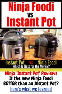 Ninja Instant Pot Reviews - how does the new Ninja instant cooker compare to an Instant Pot? Ninja Foodi vs Instant pot - here's the winner