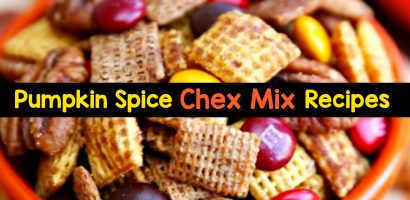 Pumpkin Spice Chex Mix and Puppy Chow Recipes We Love