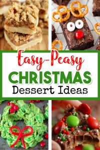 These Christmas desserts recipes are SO easy - perfect for your Holiday party, Christmas get-together, or for a crowd. While I love all Christmas baking ideas, sometimes you just need quick and easy dessert recipes that you can even make last minute if you need to.