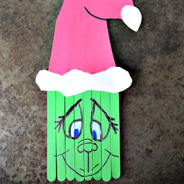 Easy Grinch Christmas Arts and Crafts for Kids - DIY Grinch Decorations and Christmas Ornaments