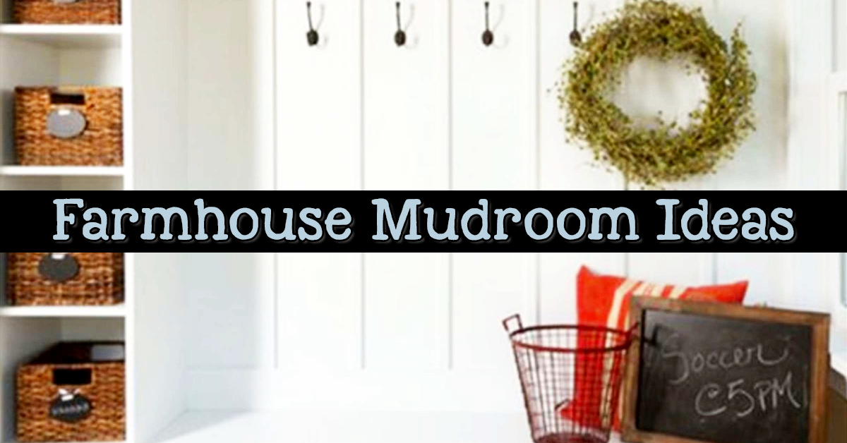 farmhouse mudroom ideas