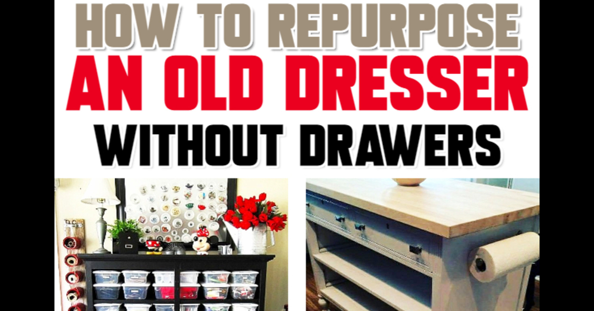 Tool Chest Dresser Makeover: How To Repurpose A Dresser Without Drawers