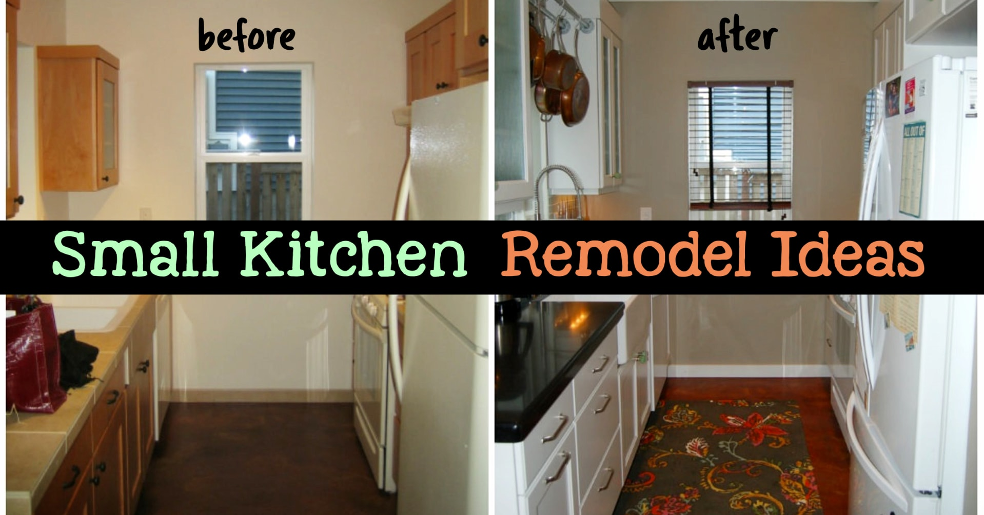 small kitchen remodel ideas on a budget - before and after small kitchen and tiny kitchen remodel pictures