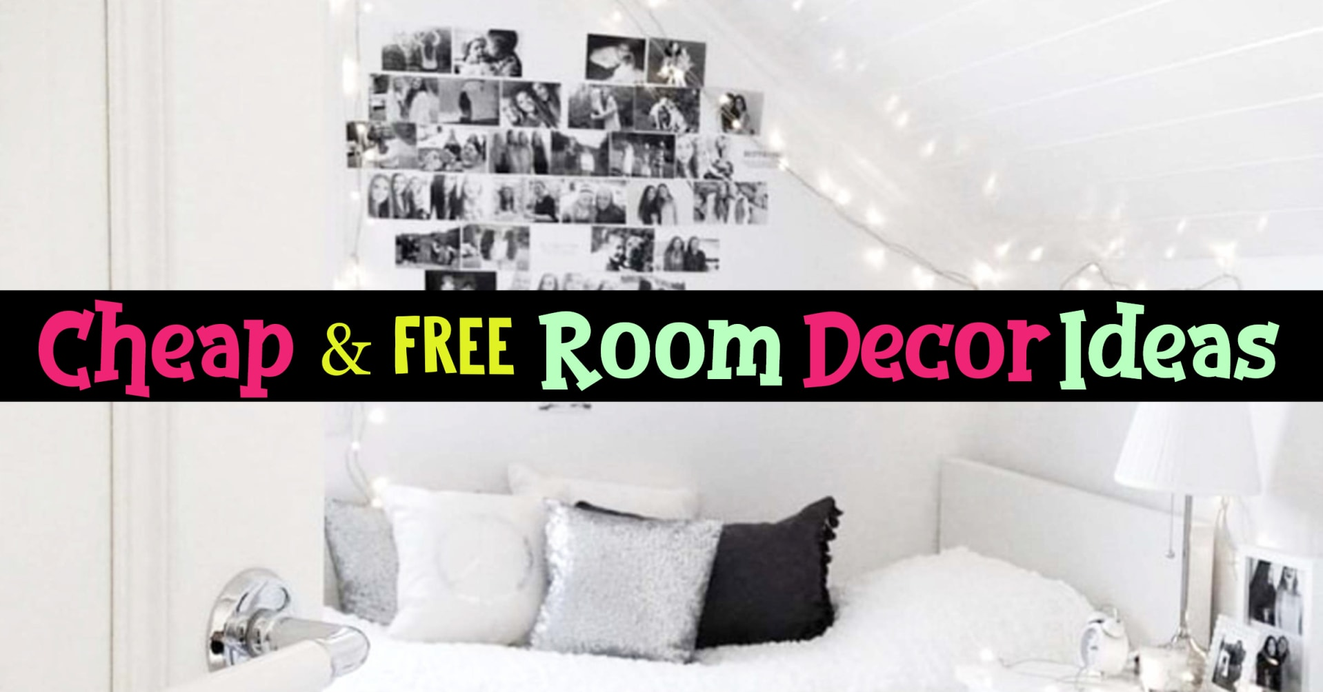 How To Decorate Your Room Without Ing Anything