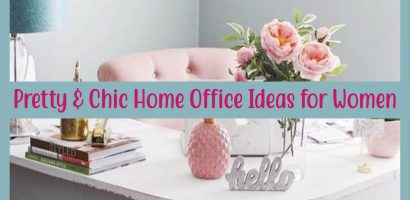 Pretty Home Office Ideas For Women – Glam Chic Home Office Inspiration