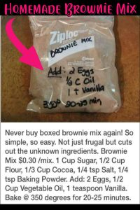 Super simple desserts - Ziploc Brownies! Simple brownie mix hacks - brownie mix in a bag or in a jar - premade brownie recipes awesome ziploc hacks and brownie gift ideas - super simple and CHEAP baking recipes - how to make brownies from scratch easier and BETTER than brownies in a box - simple sweet treats and desserts