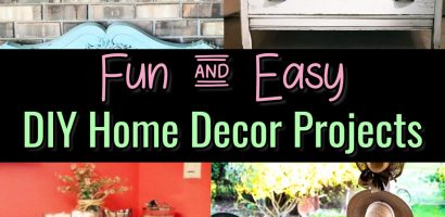 Easy DIY Crafts For The Home – Projects We Love