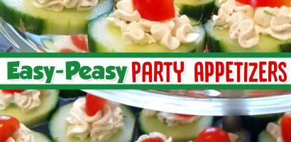 Easy Party Appetizers For a Crowd – 15 Insanely Good Crowd Pleasing Appetizers and Finger Food Ideas