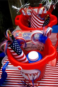 4th of July party ideas for kids - cute ideas for the kids at your July 4th party