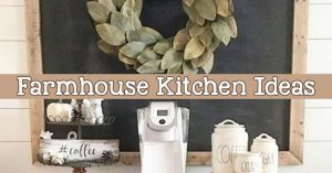 farmhouse country kitchen canisters and decorating ideas on a budget