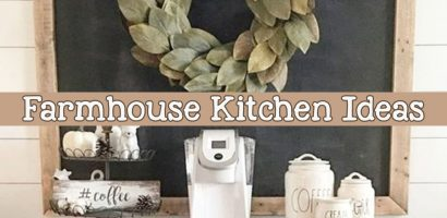 Farmhouse Kitchen Canister Sets and Farmhouse Kitchen Decor Ideas – Coffee Bar Ideas Too