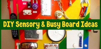 57+ Sensory Board Ideas for Toddlers – Easy DIY Activity Boards Your Toddler Will LOVE
