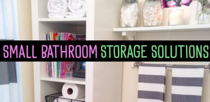 Creative Bathroom Storage Solutions For Small Bathrooms and Organization Ideas We Love