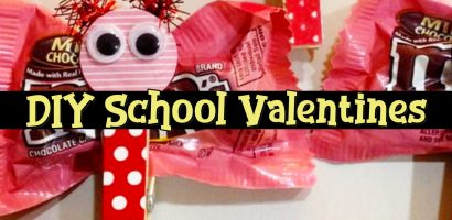 DIY School Valentine Cards for Classmates and Teachers – Simple and Easy DIY Valentine's Day Ideas For Kids