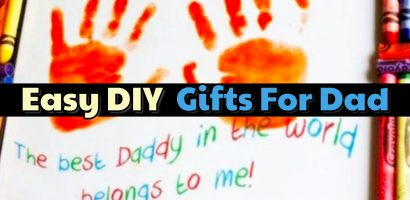 54 Easy DIY Father's Day Gifts From Kids and Fathers Day Crafts for Kids Of All Ages