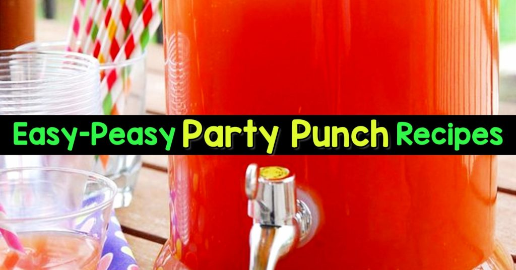 Easy Punch Recipes for a Crowd and Easy Party Drinks Ideas - Cranberry Vodka Punch, Pineapple Orange Juice Alcoholic Drinks, Punch for 50 and Simple Punch Recipes for a Crowd, Party, Brunch, Cookout or Bridal Shower - non-alcoholic punch recipes and simple alcoholic punch recipes, non-alcoholic holiday punch, easy fruit punch recipes, easy punch recipes with sprite and pineapple juice, jungle juice recipe with fruit