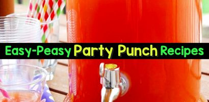 7 Easy Punch Recipes For a Crowd – Simple Party Drinks Ideas (both NonAlcoholic and With Alcohol)